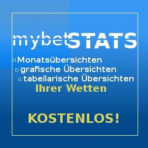 mybetstats - dein kostenloses Analysetool für deine Wetten
